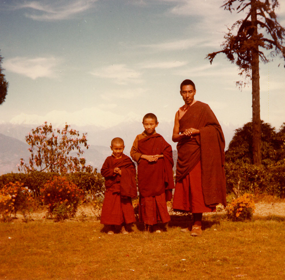 Jampal, Jigme and Personal Tutor