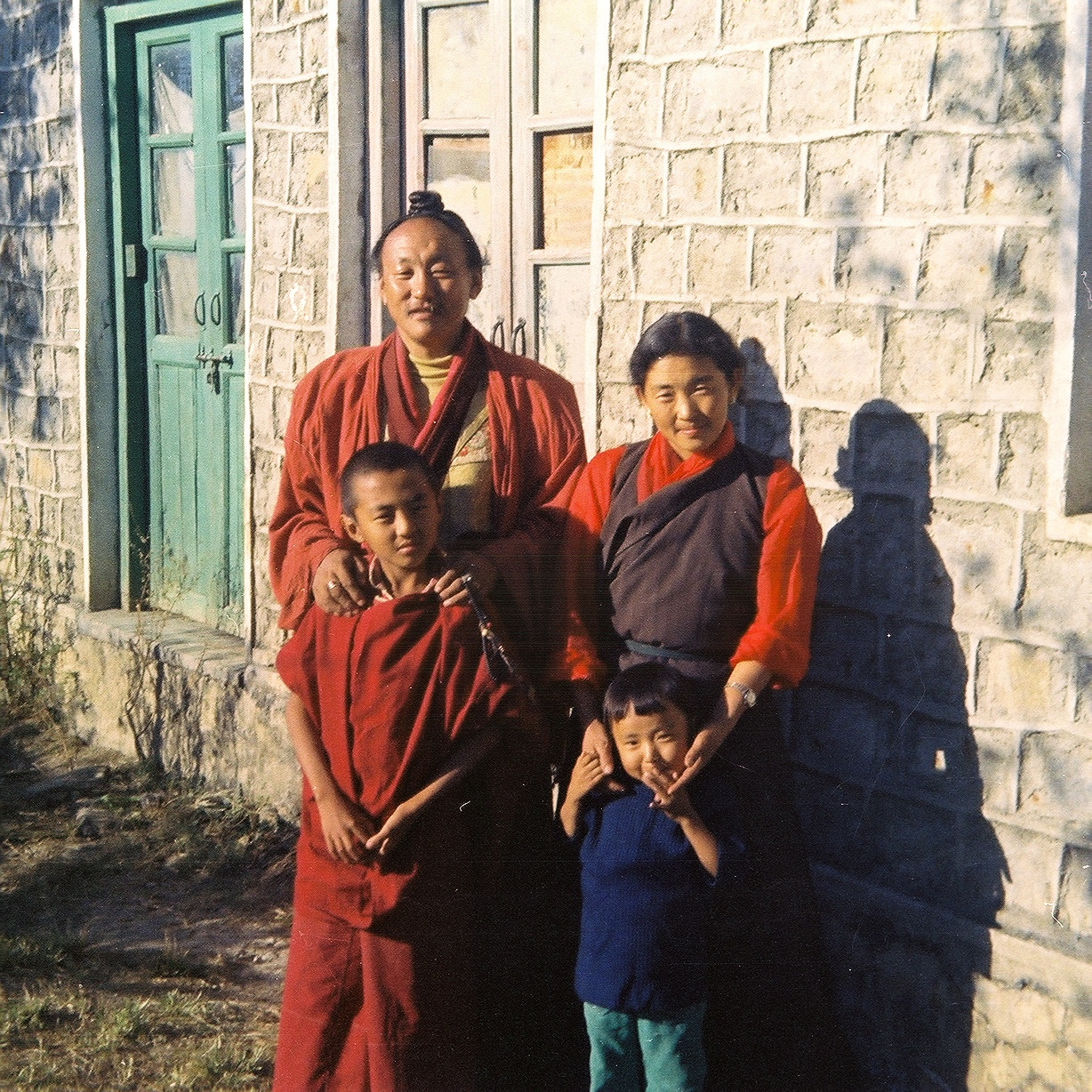 Chagdud Tulku Rinpoche and Family