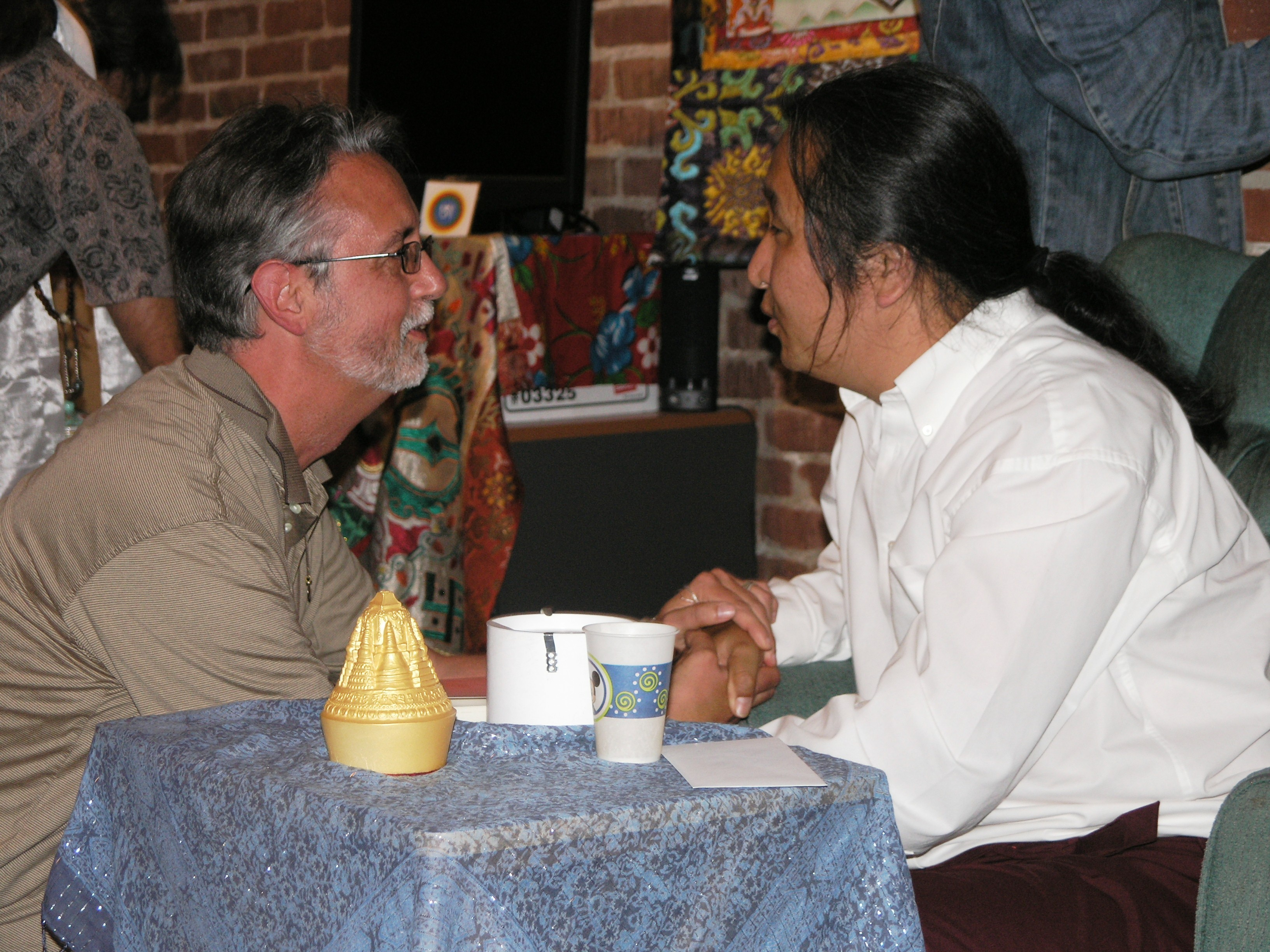 Loppon Jigme Rinpoche and Lama Thapkhay, 2006